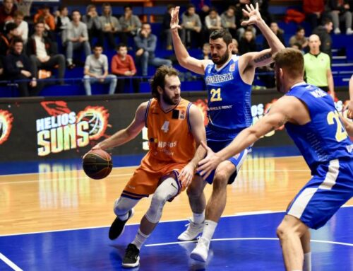 Romania: Nikola Gajic ends the season with 11.7PPG, 6.0RPG and 4.0AST