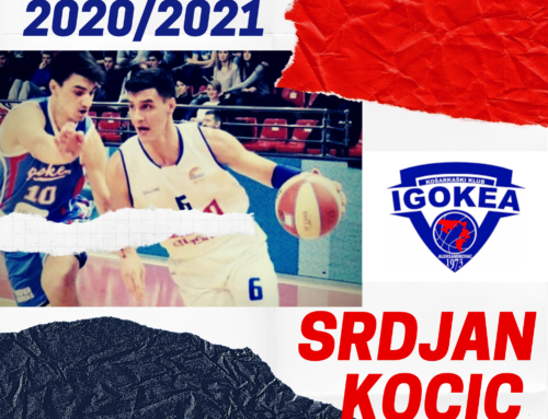 Srdjan Kocic starts his second season with BC Igokea