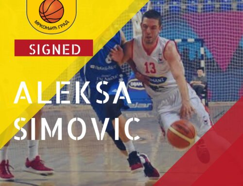 Aleksa Simovic signs one year contract with KK Mladost