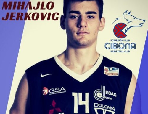 Mihajlo Jerkovic agreed terms with KK Cibona Zagreb