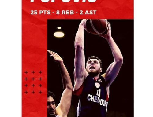 Nikola Popovic shines in Iran with 25 pts and 8 reb