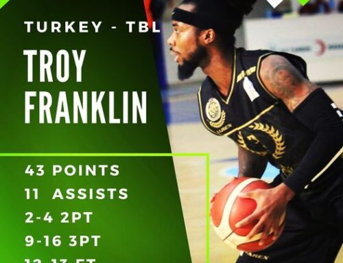Turkey: Troy Franklin dominates in Turkey