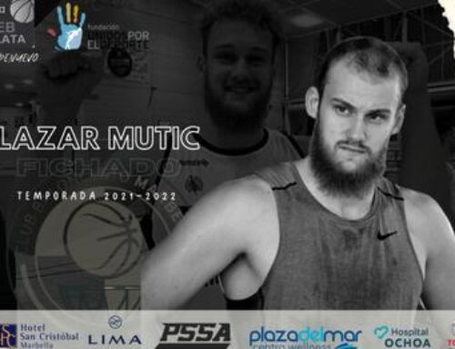 Done deal: Lazar Mutic signs with CB Marbella